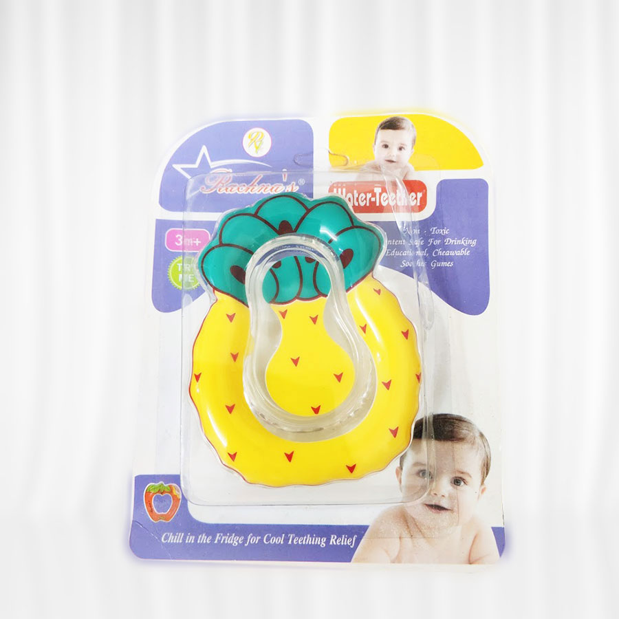 Rachna Cool Water Teether -Yellow and green