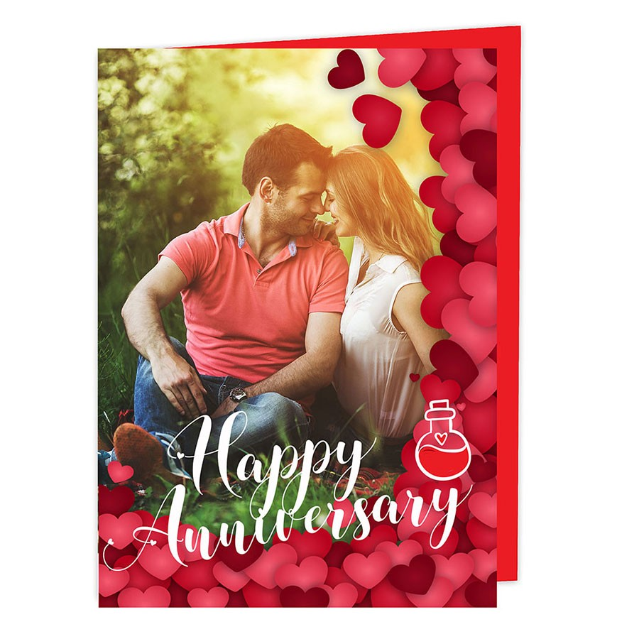 Anniversary personalised Card