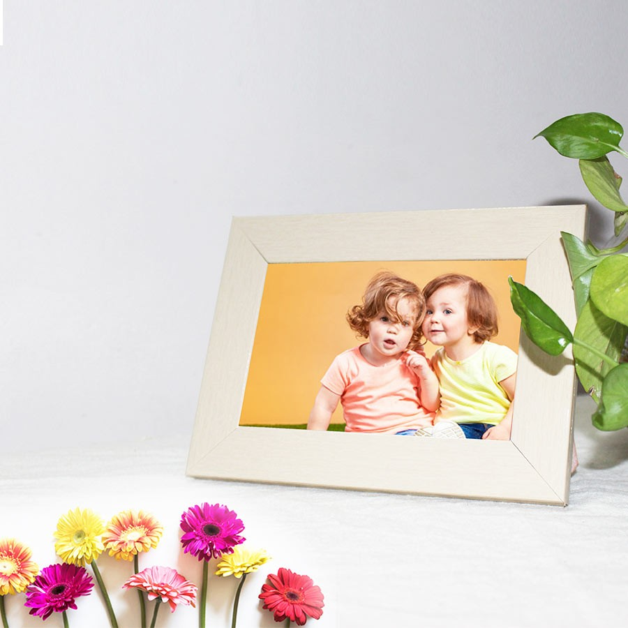 Personalized Photo Frame Self Print Picture 4x6