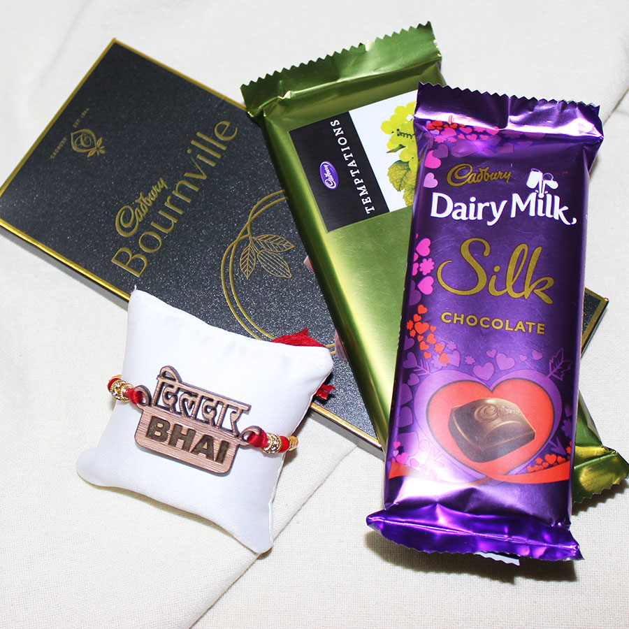 Dildar Bhai 3D ECO Friendly Rakhi Hamper