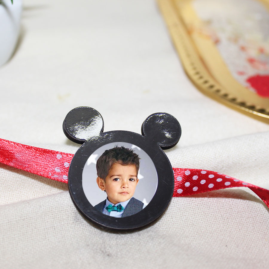 Mini  Personalized  Kids Magnetic Rakhi