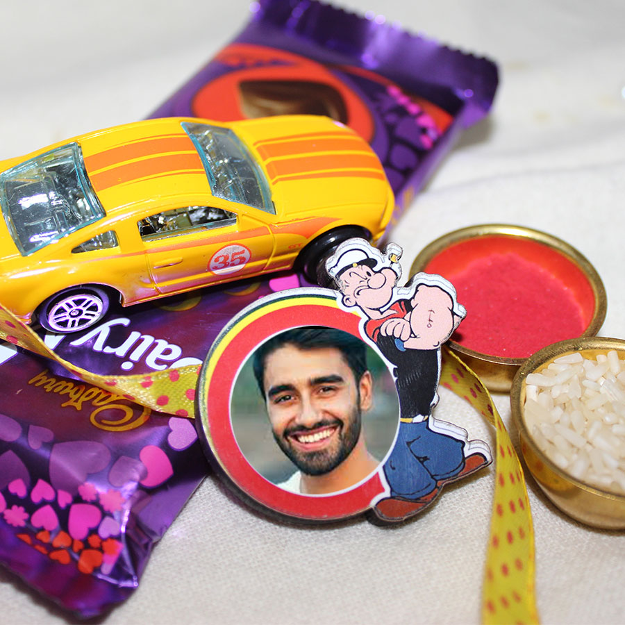 Personalized Rakhi Hamper